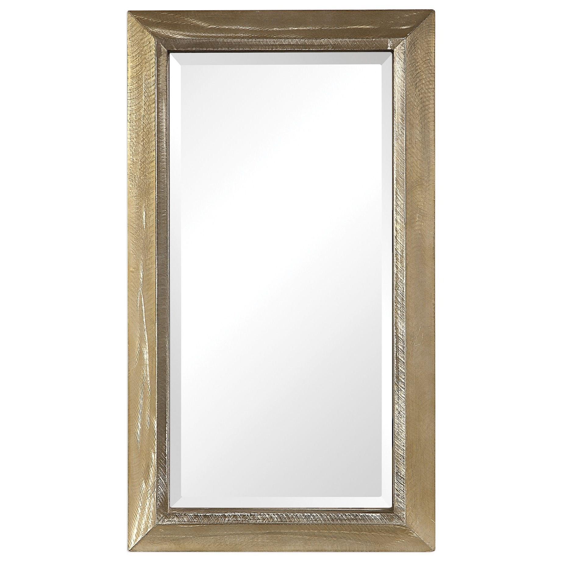 Mirrors Madock Metallic Brass Mirror by Uttermost at Wayside Furniture
