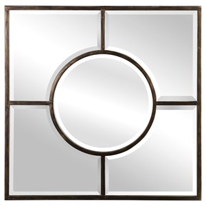 Baeden Forged Iron Mirror