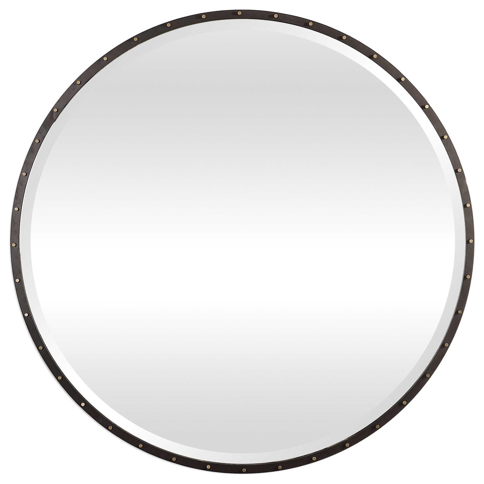 Mirrors - Round Benedo Round Mirror by Uttermost at Mueller Furniture