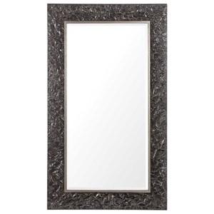 Axel Textured Steel Large Mirror