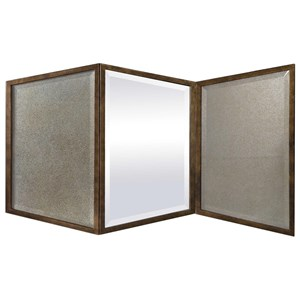 Viva Gold Geometric Mirror