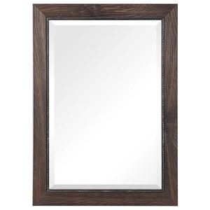 Lanford Walnut Vanity Mirror