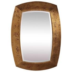 Syrah Antique Gold Mirror