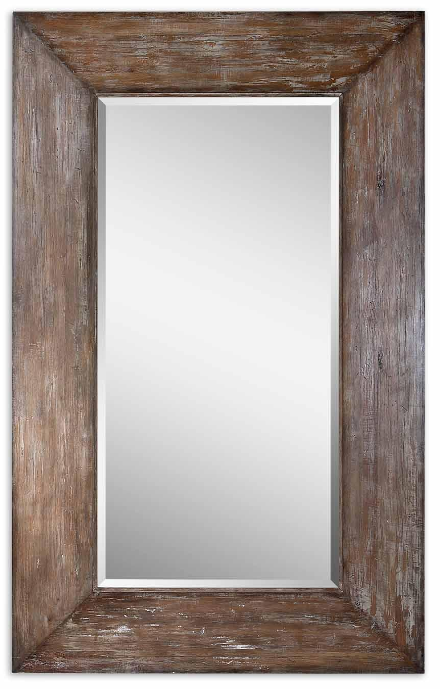Mirrors Landford Large Mirror by Uttermost at Wayside Furniture