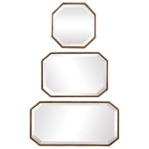 Trois Gold Mirrors (Set of 3)