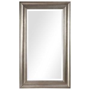Palia Silver Leaf Wall Mirror