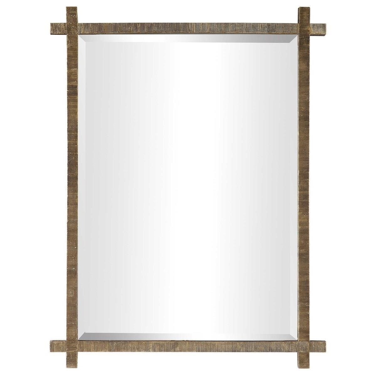 Mirrors Abanu Gold Vanity Mirror by Uttermost at Wayside Furniture