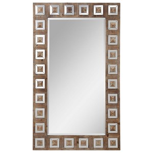 Anara Wooden Mirror