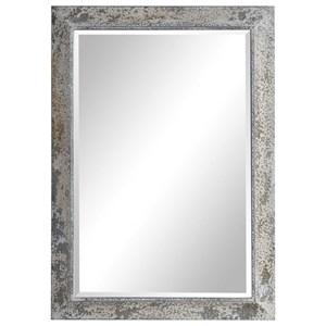 Raffi Aged Silver Mirror