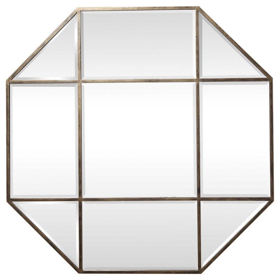 Mirrors Daniella Octagon Mirror by Uttermost at Wayside Furniture