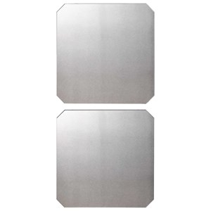 Lange Square Mirrors, Set of 2