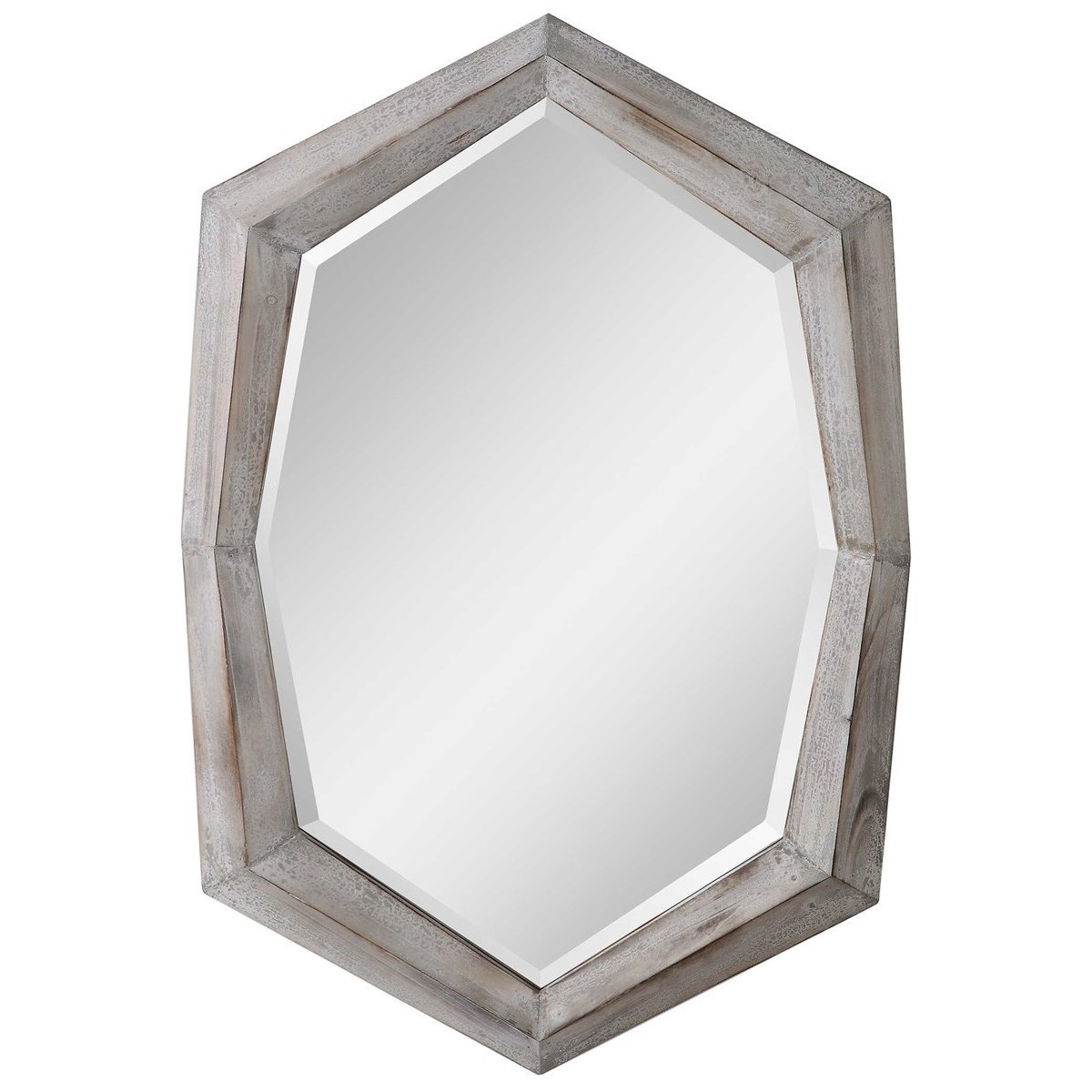 Mirrors Turano Aged Ivory Mirror by Uttermost at Wayside Furniture