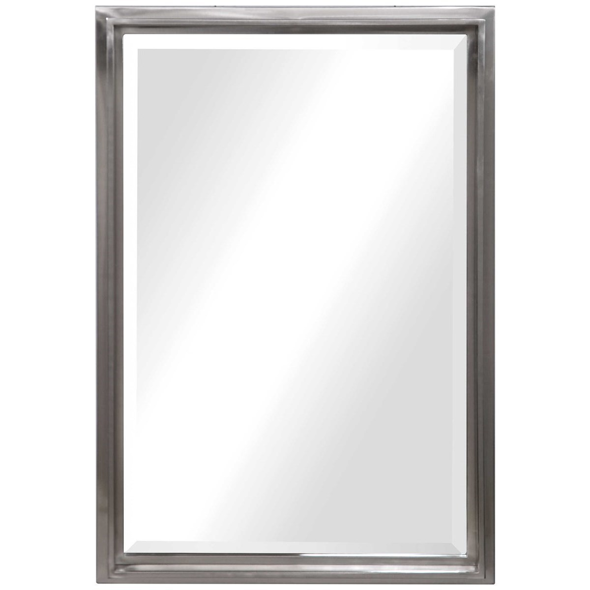 Mirrors Cosimo Silver Vanity Mirror by Uttermost at Del Sol Furniture
