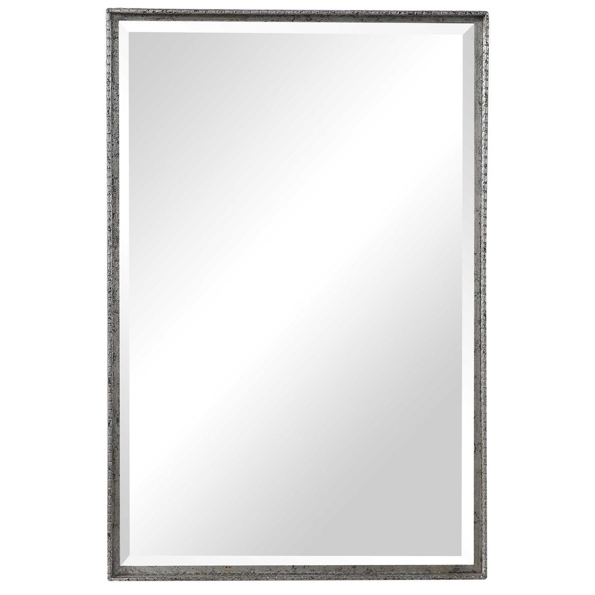 Mirrors Callan Silver Vanity Mirror by Uttermost at Wayside Furniture