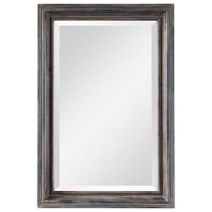 Gulliver Distressed Blue Vanity Mirror