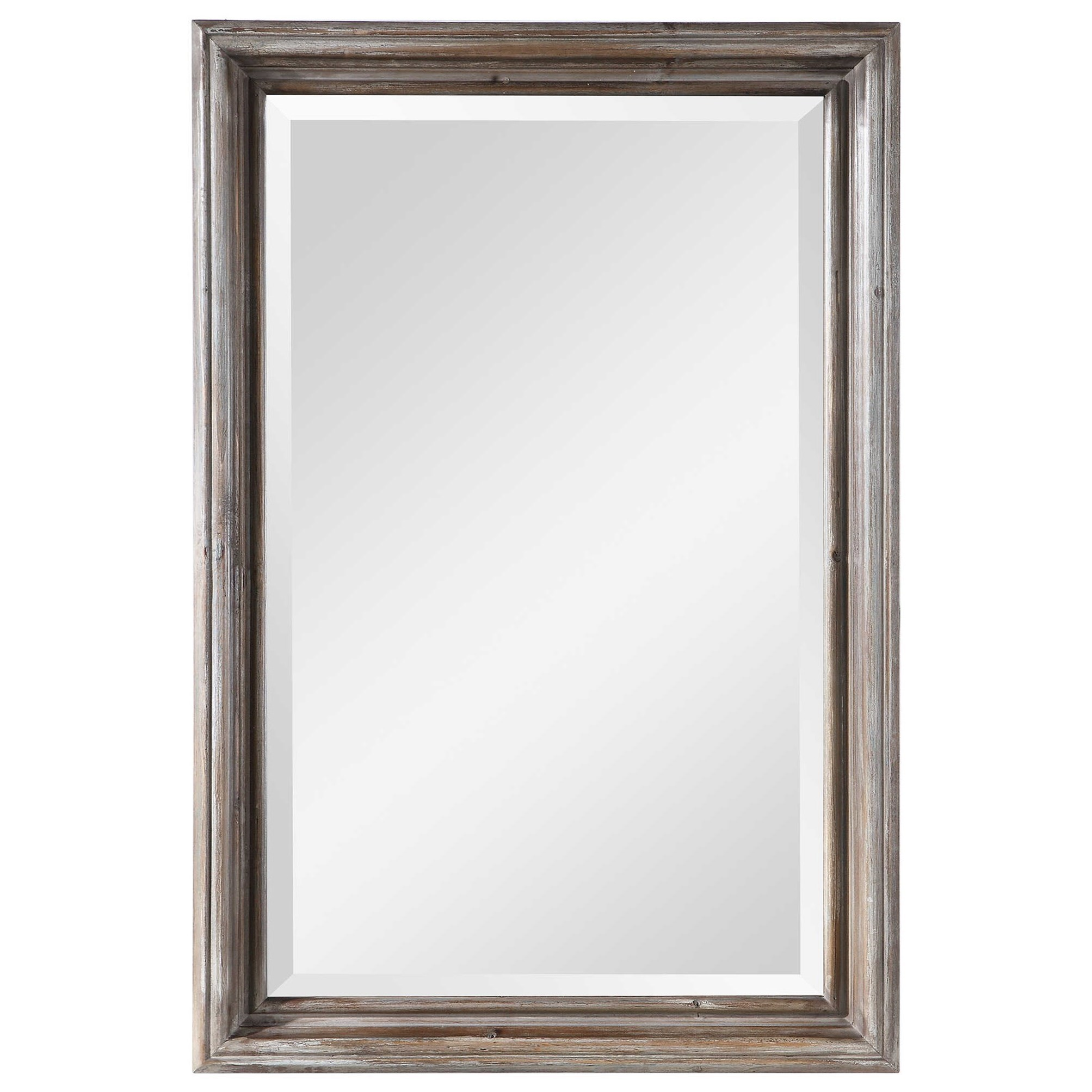 Mirrors Fielder Distressed Vanity Mirror by Uttermost at Mueller Furniture