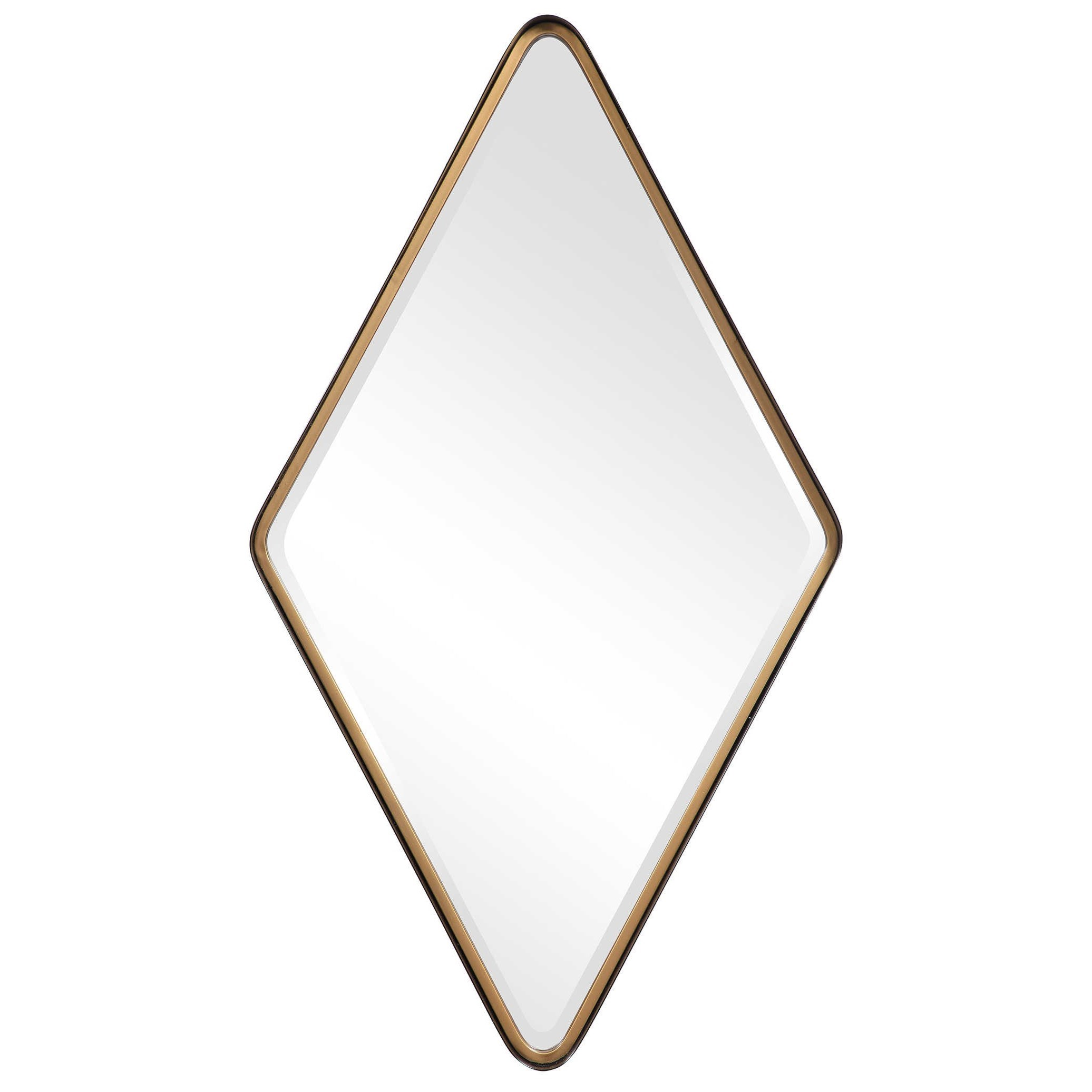 Mirrors Crofton Diamond Mirror by Uttermost at Upper Room Home Furnishings
