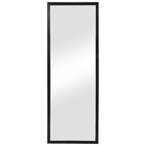 Avri Oversized Dark Wood Mirror