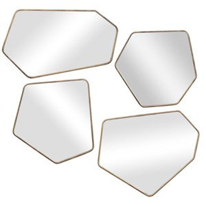 Linneah Modern Mirrors, S/4