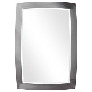 Haskill Brushed Nickel Mirror