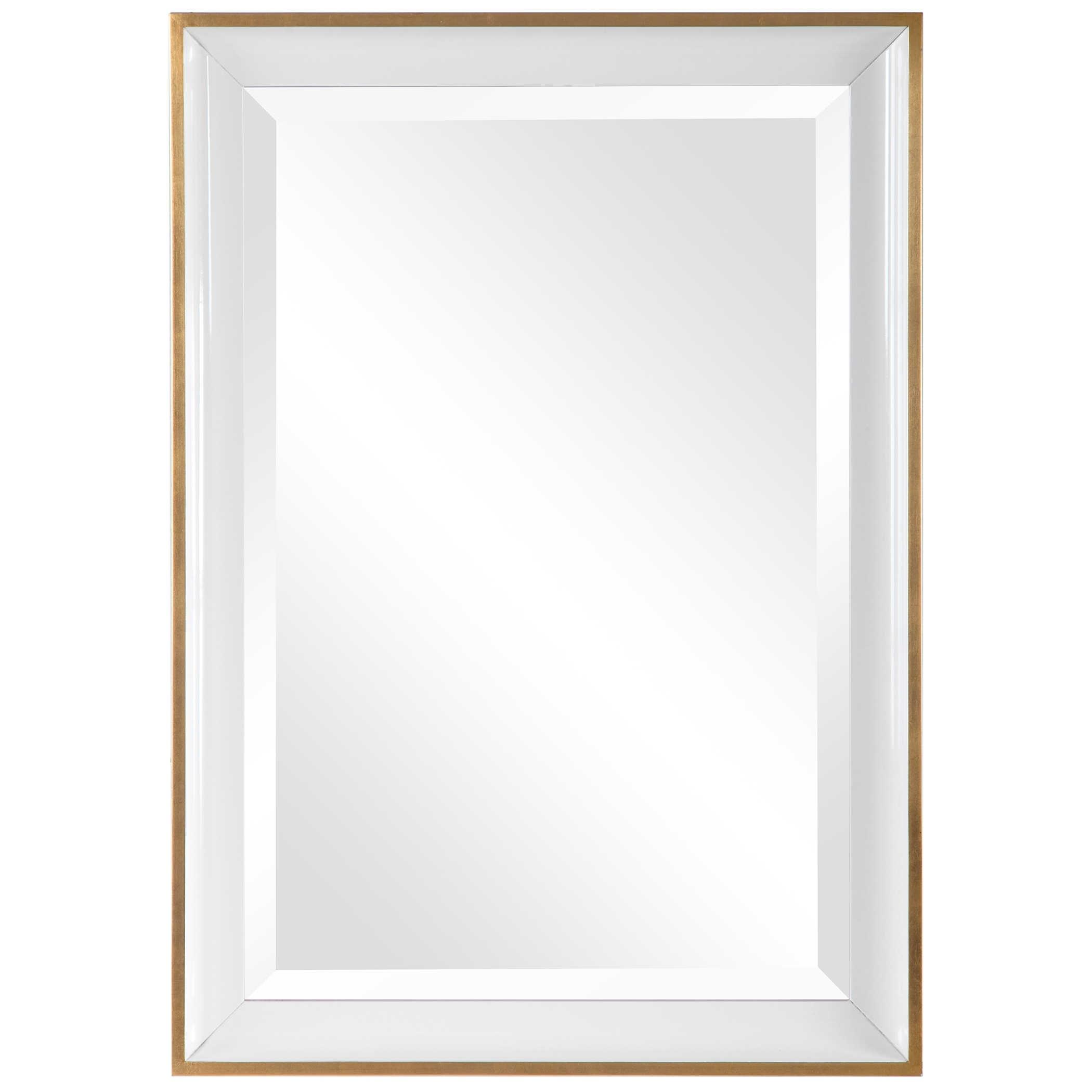 Mirrors Gema White Mirror by Uttermost at Mueller Furniture