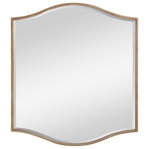 Cerise Gold Mirror