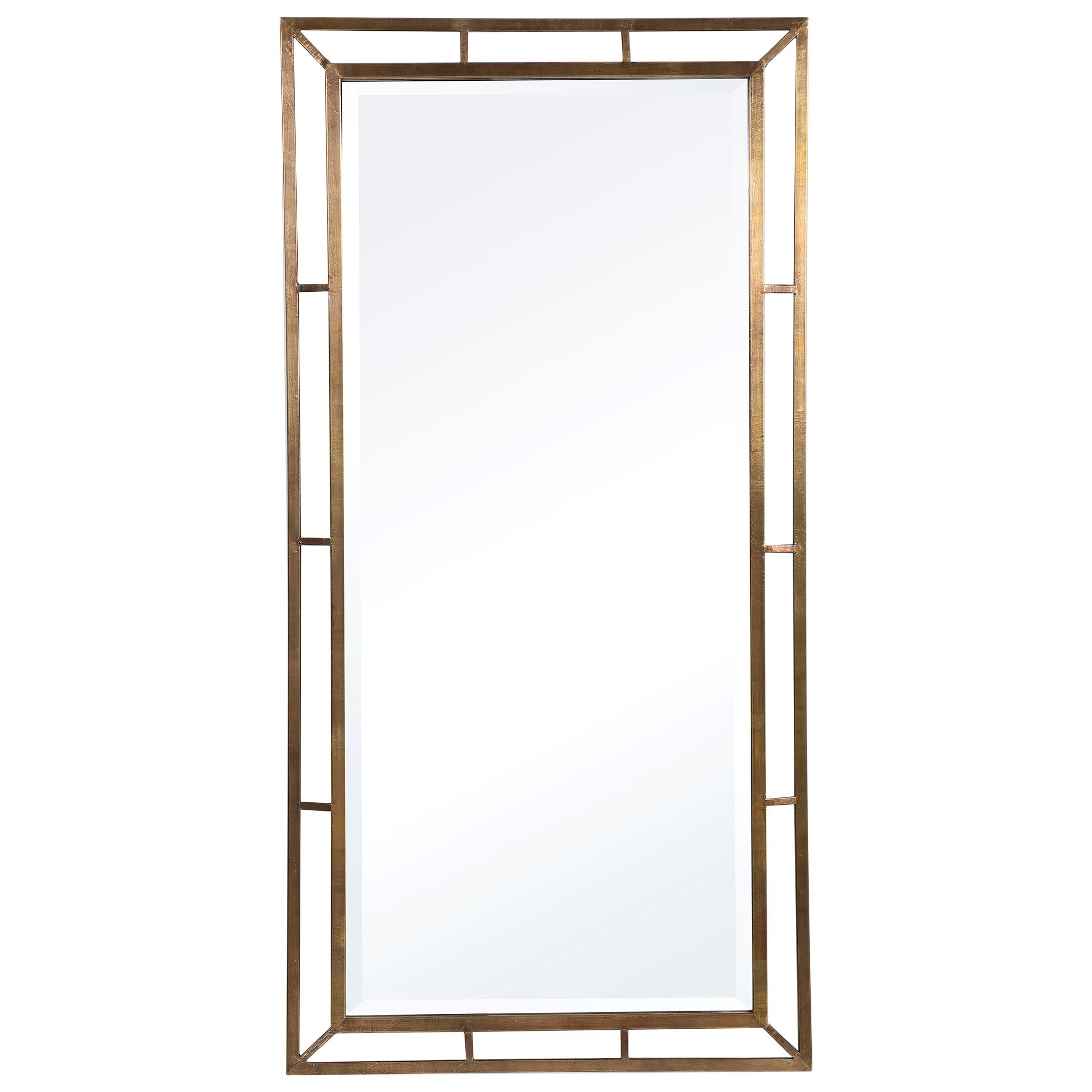 Mirrors Farrow Copper Industrial Mirror by Uttermost at Miller Waldrop Furniture and Decor