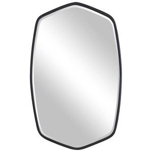 Duronia Black Iron Mirror