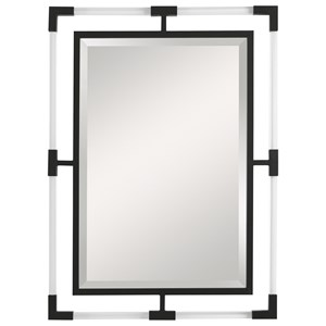 Balkan Black Iron Mirror