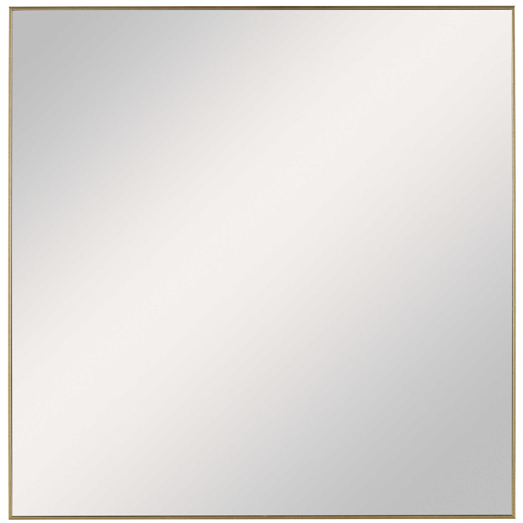 Mirrors Alexo Gold Square Mirror by Uttermost at Miller Waldrop Furniture and Decor