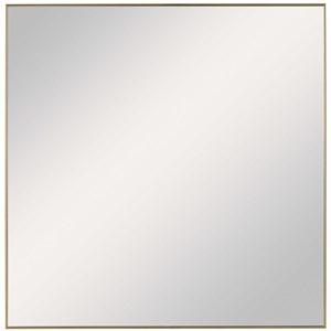 Alexo Gold Square Mirror