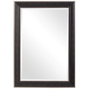 Mercer Dark Bronze Traditional Mirror