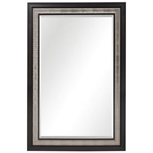 Chamberlain Silver & Ebony Mirror