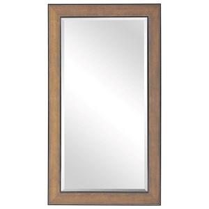 Valles Golden Rust Mirror