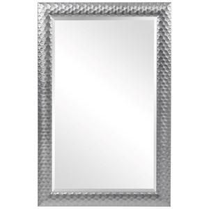Caldera Textured Gray Mirror