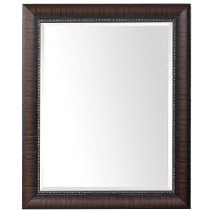 Wythe Burnished Wood Mirror