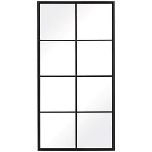 Rousseau Iron Window Mirror