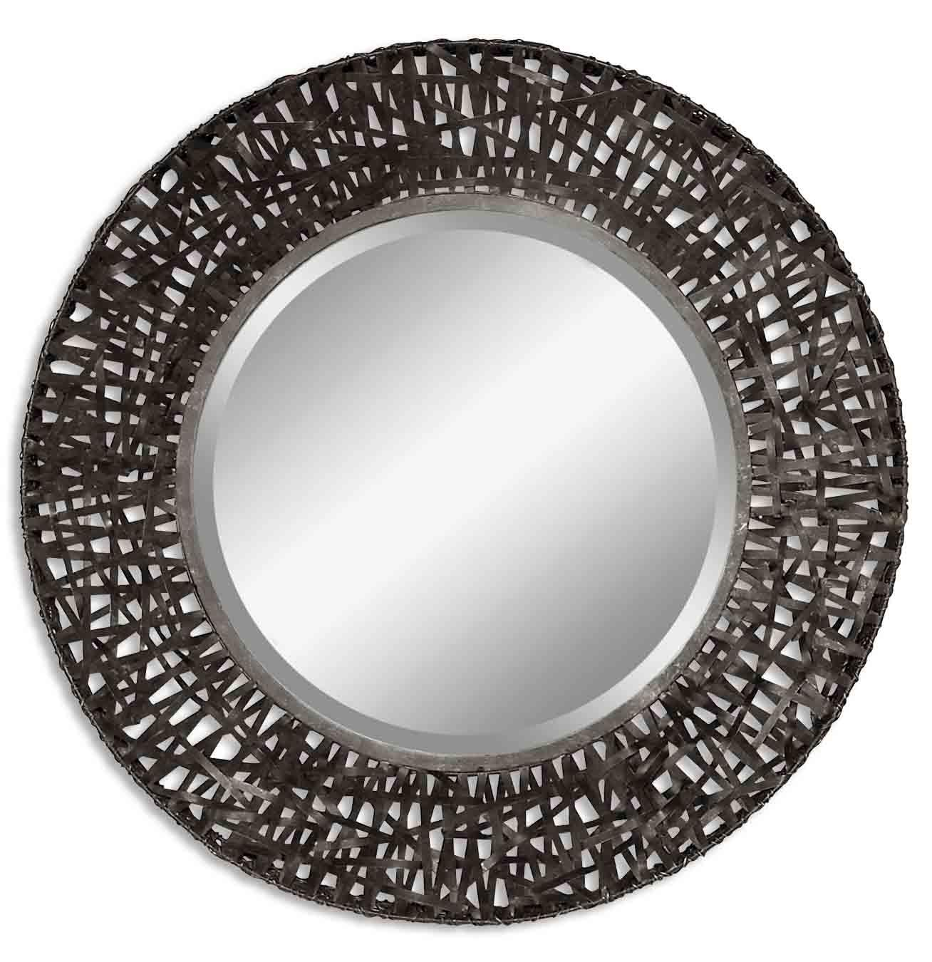 Mirrors - Round Alita Mirror by Uttermost at Pedigo Furniture
