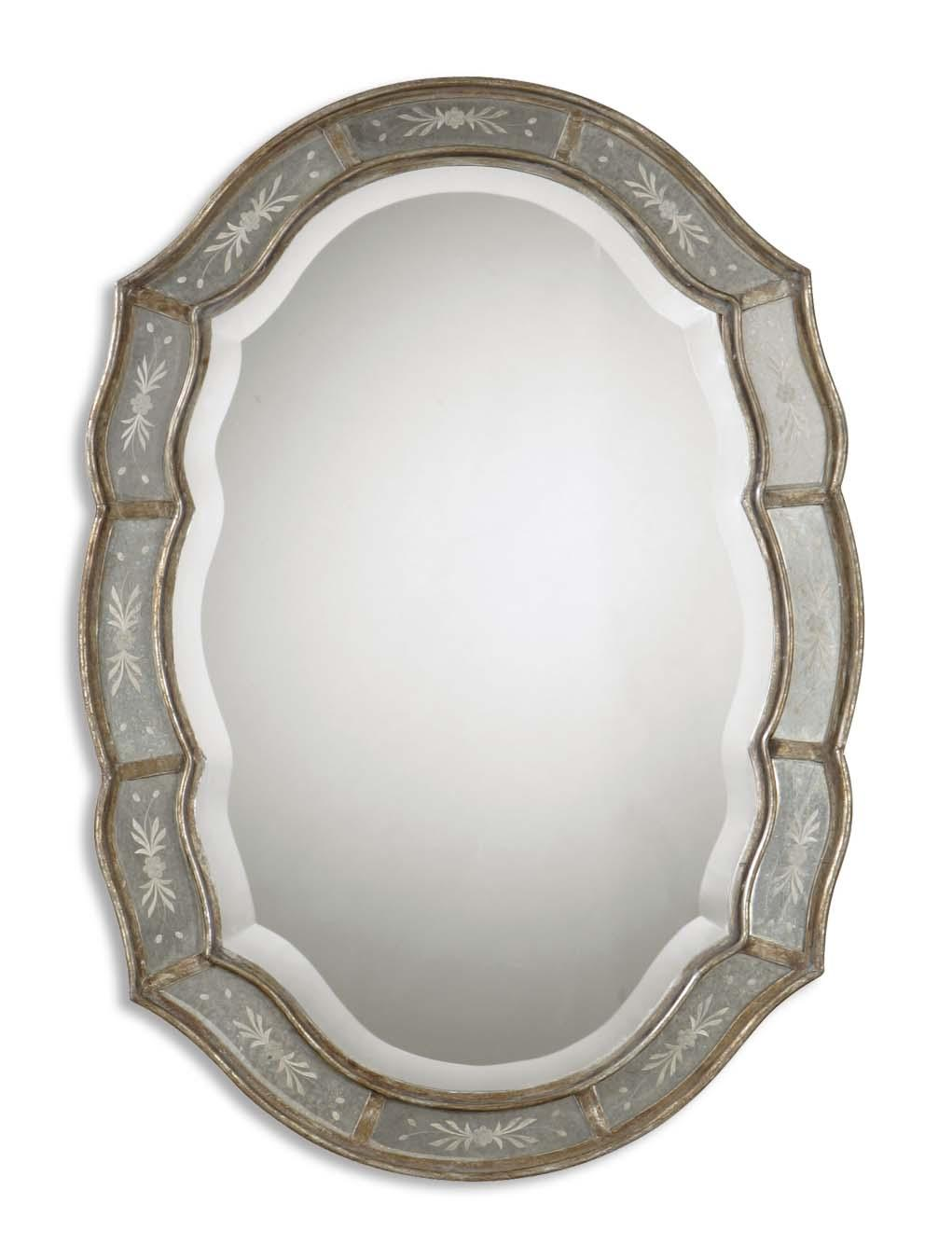 Mirrors - Oval Fifi by Uttermost at Lucas Furniture & Mattress