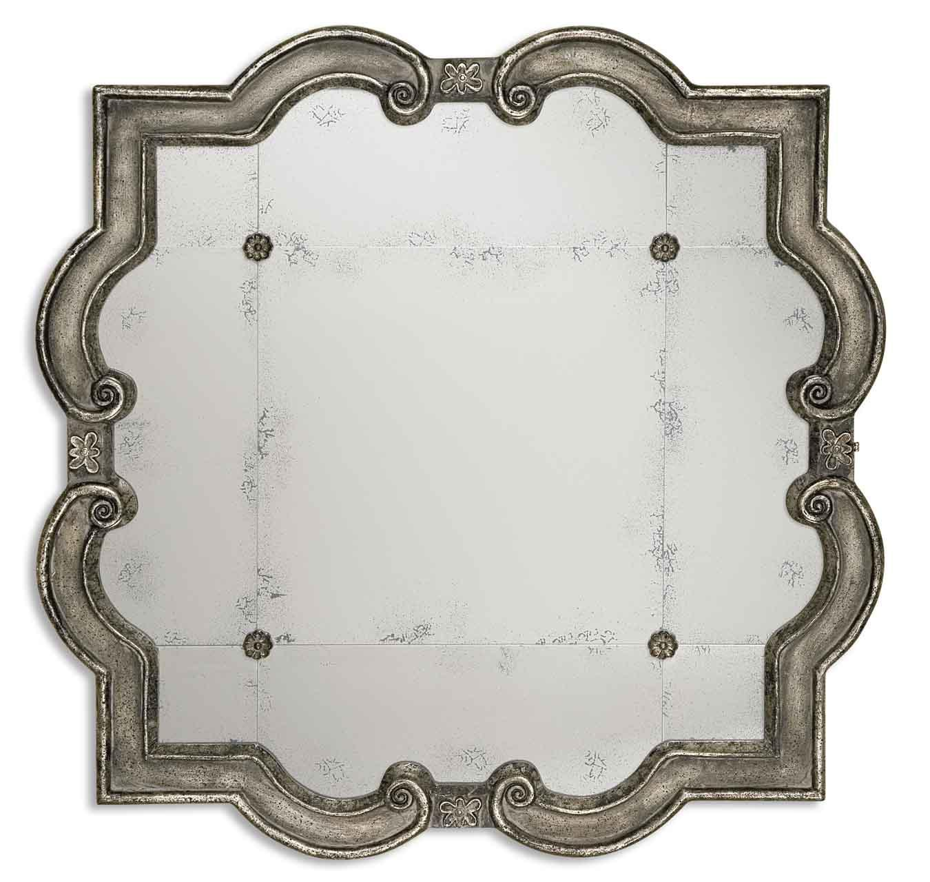 Mirrors Prisca Small by Uttermost at Lucas Furniture & Mattress