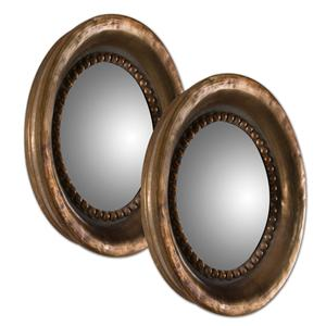 Tropea Rounds Wood Mirror