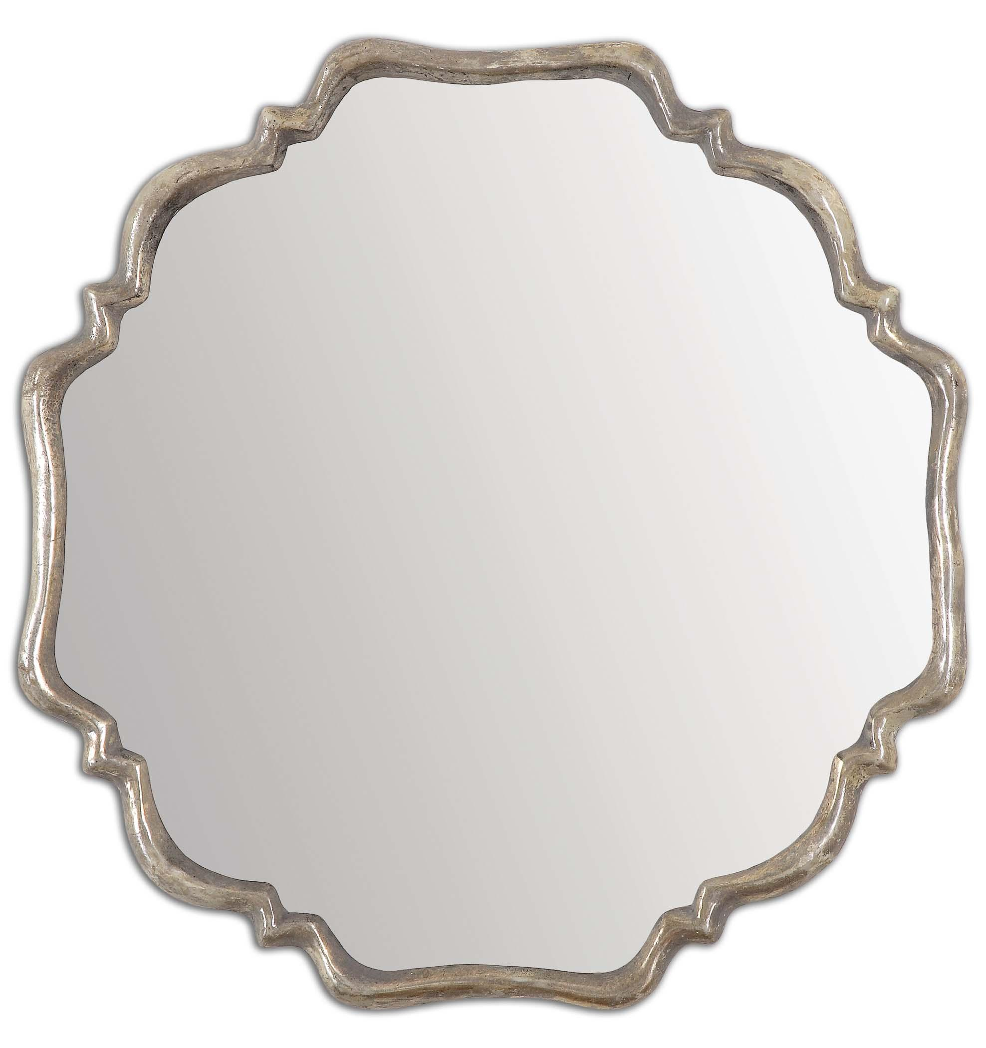 Mirrors Valentia Silver Mirror by Uttermost at Wayside Furniture