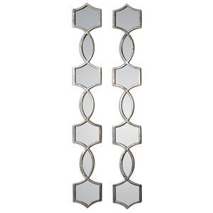 Uttermost Mirrors Vizela Metal Mirrors Set of 2