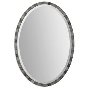 Uttermost Mirrors Paredes Oval Mosaic Mirror