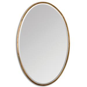 Uttermost Mirrors Herleva Gold Oval Mirror