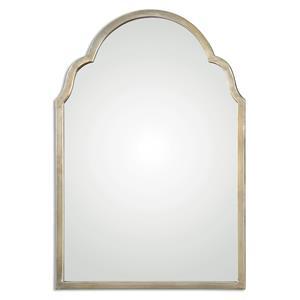 Brayden Petite Silver Arch Mirror