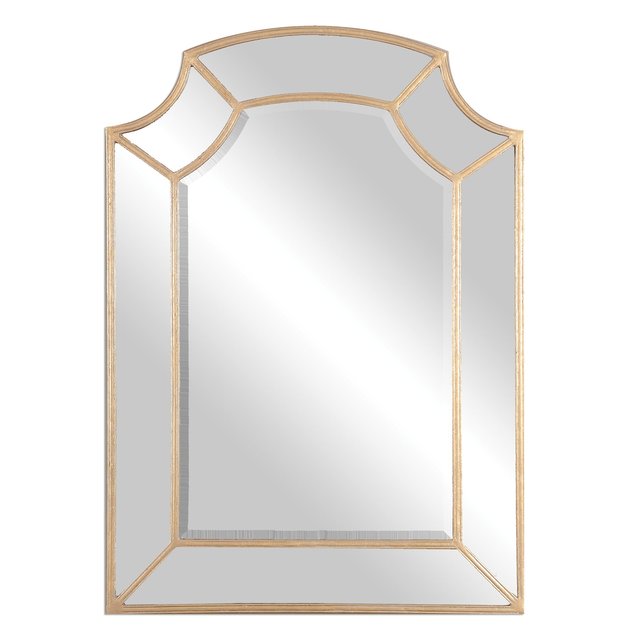 Arched Mirrors Francoli Gold Arch Mirror by Uttermost at Mueller Furniture