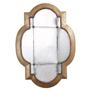 Uttermost Mirrors Andorra Gold Leaf Mirror