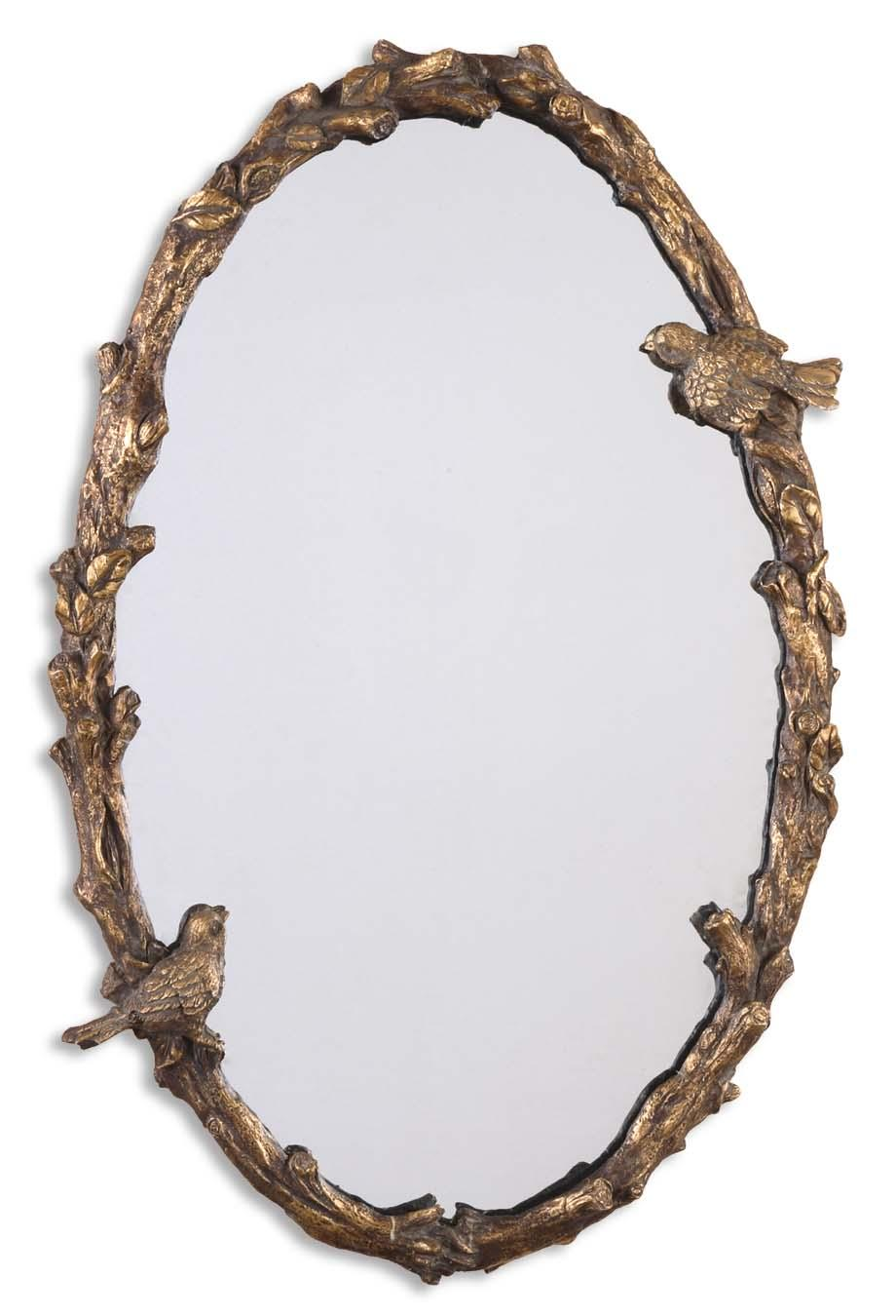 Mirrors - Oval Paza Oval Mirror by Uttermost at Rooms for Less