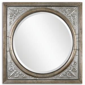 Uttermost Mirrors Ireneus Burnished Silver Mirror